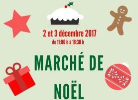 Preparem-se! Marché de Noël – 2 et 3 décembre