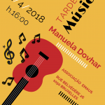 Tarde de Música – Manuela Dohvar – 22.04.2018 16h