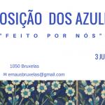 """Exposição dos Azulejos – """"Feito por nós"""" – 3 de Junho 16h00"""
