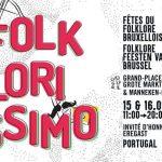 Folklorissimo – Festa do folclore de Bruxelas 15 e 16 de Setembro 2018