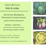 Conferência Atelier de Cozinha – 20.10.2018 16:00