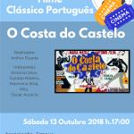 O Costa do Castelo – Tarde de Cinema na Emaus Sáb. 13.10.2018 às 17H