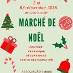 Marché de Noël, 2, 8 et 9 décembre 2018