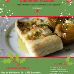 Bacalhau Assado – Domingo 16 Dezembro 2018 13:00