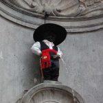 Manneken-pis trajado à portuguesa
