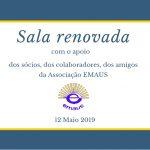 """Domingo 12 Maio 2019, inauguração da """"Sala Polivalente"""". Inscrições concerto """"Dia do Portugal"""""""