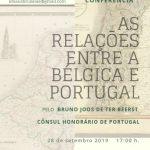 """Conferência:                          """"As relações entre a Bélgica e Portugal"""""""