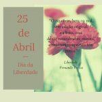 Desejamos um Bom 25 Abril!